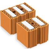 Blocchi con inserti in Neopor che assicurano il massimo isolamento termoacustico, con un'estrema facilità di posa.